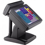 "POS-компьютер моноблок MapleTouch MP156-PM1.83, монитор 15"" сенсорный COM, черный"