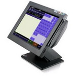 "POS-компьютер моноблок MapleTouch MP176-PM1.83, монитор 17"" сенсорный COM, черный"
